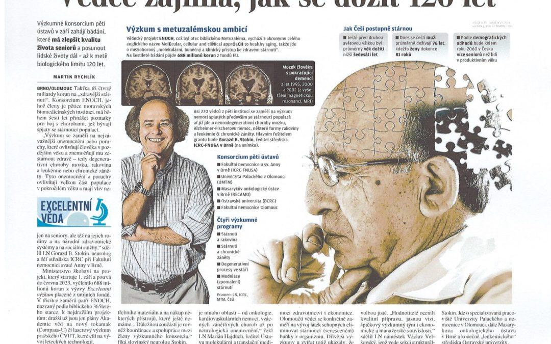 Vědce zajímá, jak se dožít 120 let